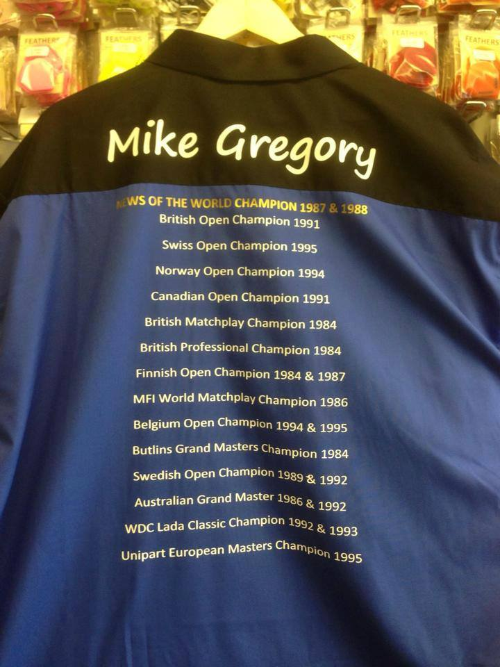 Mike Gregory shirt
