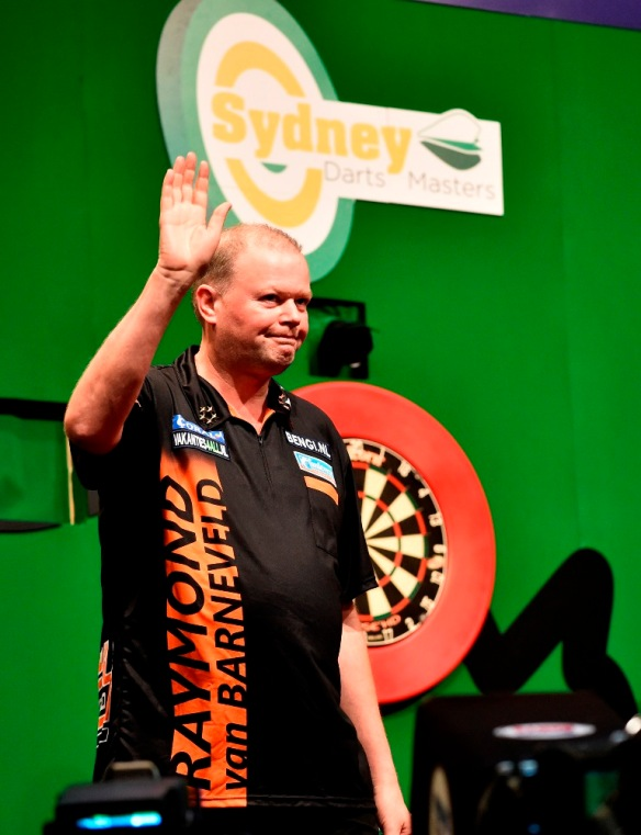 Will Barney go all the way in Sydney?  (Photo: Russell Pritchard)